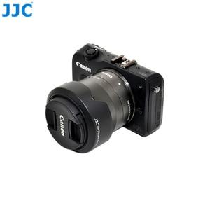 Image 2 - JJC Camera Lens Hood for Canon EF M 18 55mm Lens On Canon EOS M200 M100 M50 M10 M6 Mark II M5 M3 Replaces Canon EW 54 Lens Shade