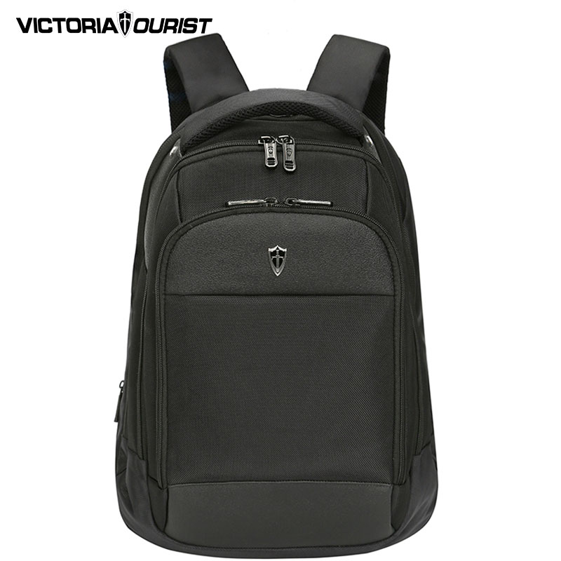 цены  VICTORIATOURIST men 15 inch laptop backpack OL back pack nylon waterproof and wearproof backpacks V6018 classic black