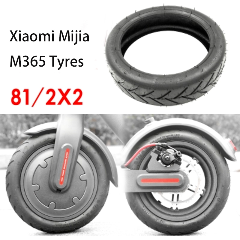 Xiaomi Mijia M365 Electric Scooter Tires Tyres 8 1/2x2 Inflation Wheel Tyres Outer Inner Tube Pneumatic Tyre Accessories Durable