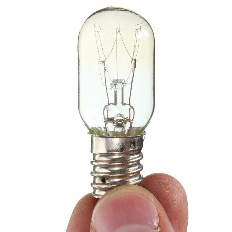 Retro Light Bulb E14 Lamp Bulb SES 300 Celsius 15W 25W Warm White Oven Cooker Bulb Oven Lamp Lighting Warm White AC220-230V