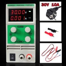 Mini Einstellbare Dc-netzteil, labor Stromversorgung, Digitale Variable spannungsregler 30V10A Vier display PS3010DM