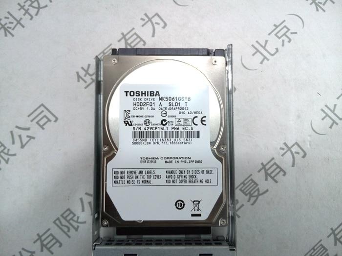 MK5061GSYB 500GB 7 2K SATA 2 5inch hard font b disk b font drive 1 year
