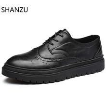 Genuine Leather Men Casual Shoes Handmade Bullock Shoes For Men Summer Men's Flat Shoes Zapatillas Hombre 319