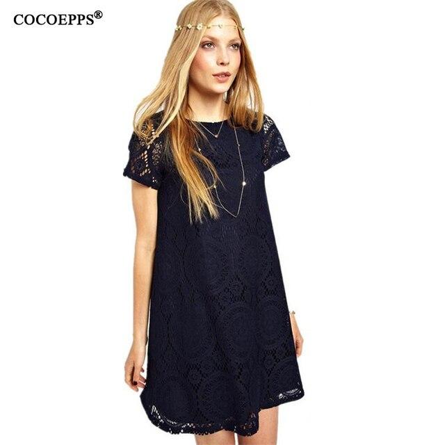a8e961939fc4 vestidos 2017 plus size women clothing Casual summer dresses big size women  vintage dress lace print