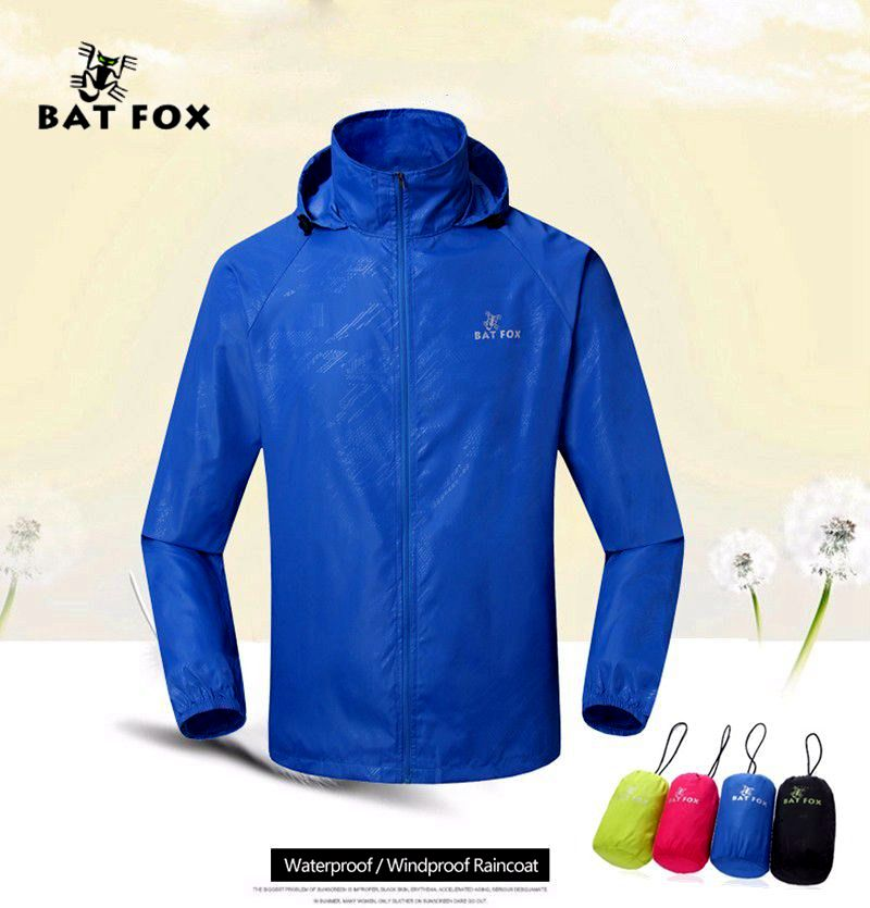 BATFOX 2017 Cycling Jacket Men Women cycling rain jacket outdoor Waterproof Bike Long Sleeve windbreaker Jerseys bicycle jackets