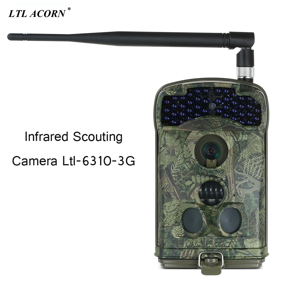 Infrared Scouting Hunting Wildlife 3G Camera Ltl6310MG 12M 1080P HD Video MMS SMS Hunting Camera Trigger Time 0.8s Photo Traps 2 lcd hd 1080p mms digital infrared