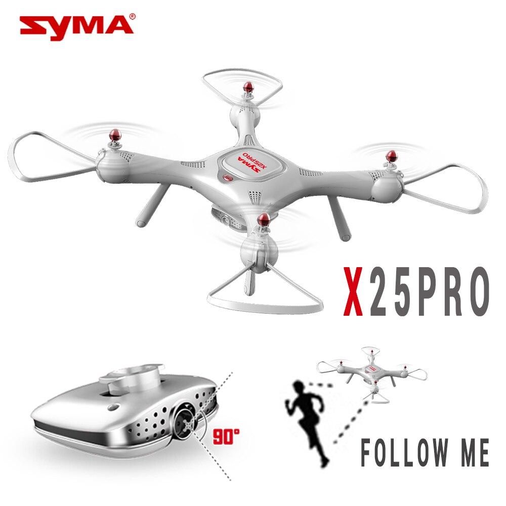 SYMA X25 PRO X25PRO GPS RC Drone Wifi FPV Réglable 720 p HD Caméra Quadrocopter 2.4g 6 Axe RC hélicoptère VS H502S MJX BUGS 2