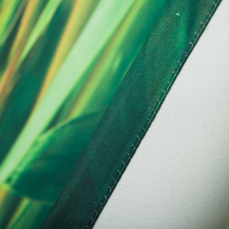 Freies Verschiffen Moderne Art 3d Digital Print Blackout Bambus