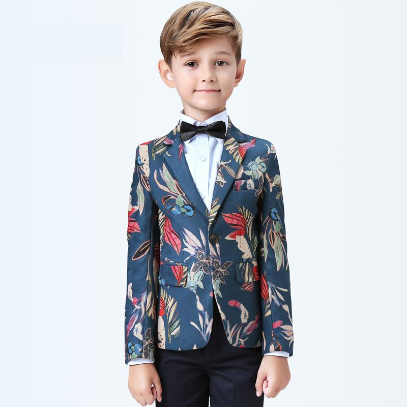 5 pièces gilet + pantalon + chemises formelles garçons costumes ensembles veste simple boutonnage régulier taille élastique prix de gros taille 110-160cm