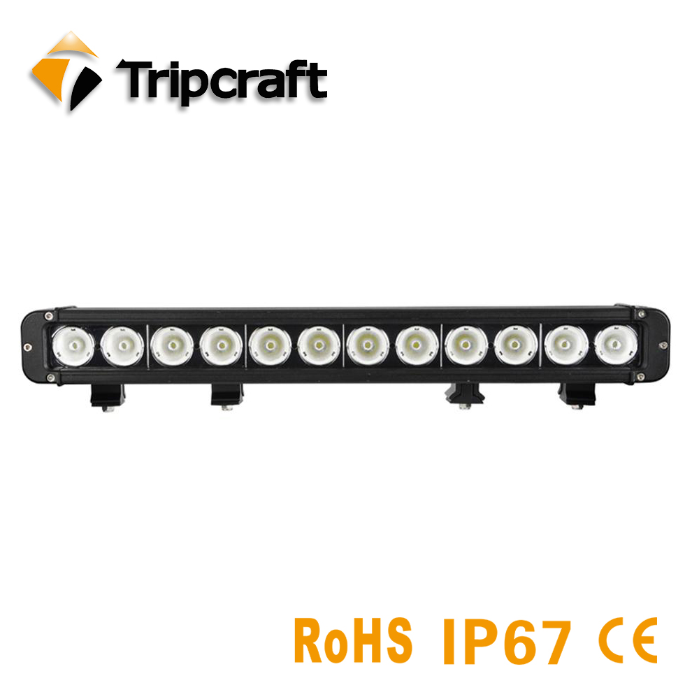 Waterproof Offroad LED Working Light 120W single rows 4x4 car auto truck tractor UTV ATV 12v 24V offroad LED car light bar 2pcs lot ip67 single rows 120w led work light bar 4x4 accessory led driving lights black house