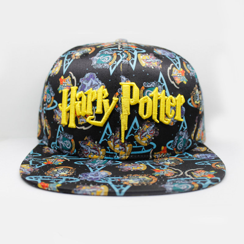 Harry Potter Gryffindor Baseball Cap New Fashion Men Women Cosplay Cartoon Hats Letter Hip Hop Caps Casual Outdoor Snapback Hat aetrue winter knitted hat beanie men scarf skullies beanies winter hats for women men caps gorras bonnet mask brand hats 2018