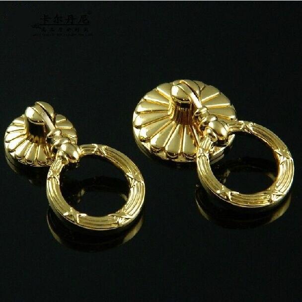 Moderne Mode Luxus wackeligen anhänger griffe gold schublade ...