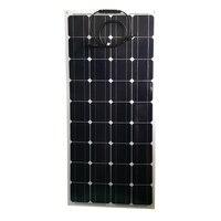 Flexible Solar Panel 100w 12v 3 Pcs Portable Phone Battery Charger Zonnepanelen 300w Caravan Car Camping Motorhomes Rv Boat LED