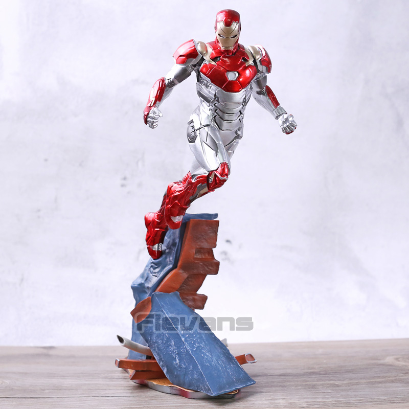 Iron Studios Spider Man Homecoming Iron Man Mark XLVII MK 47 1/10 Scale PVC Statue Figure Collectible Model Toy BrinquedosIron Studios Spider Man Homecoming Iron Man Mark XLVII MK 47 1/10 Scale PVC Statue Figure Collectible Model Toy Brinquedos