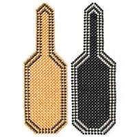 Universial Summer Cool Beaded Car Seat Cushion Massage Cushion Chair Cover For Car Office Home 2 Colors