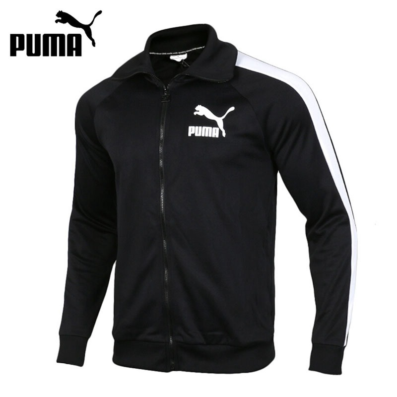 Original New Arrival 2018 PUMA T7 Vintage Track Jacket Men's  jacket  Sportswear original new arrival 2017 puma archive t7 track pants double knit men s pants sportswear