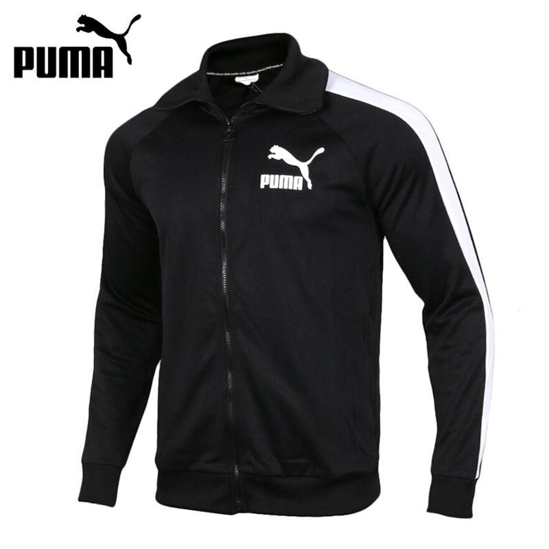 Original New Arrival 2018 PUMA T7 Vintage Track Jacket Men's jacket Sportswear толстовки puma толстовка sf t7 track jacket