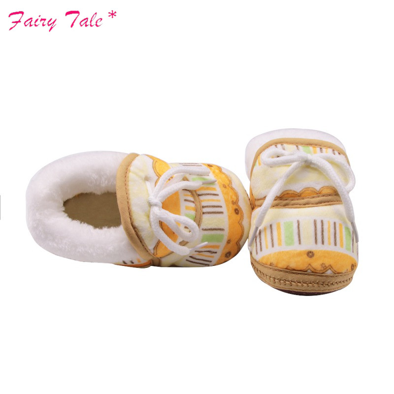 Lights & Lighting Baby Winter Boots Newborn Irregular Graffiti Printed Cotton Cloth With Short Tube Warm Boots Baby Girl Shoes