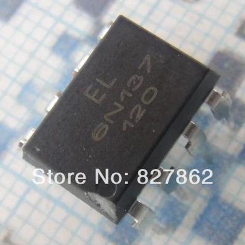 Free shipping(10 pieces/lot) New and original optocoupler EL6n137 6n137 DIP
