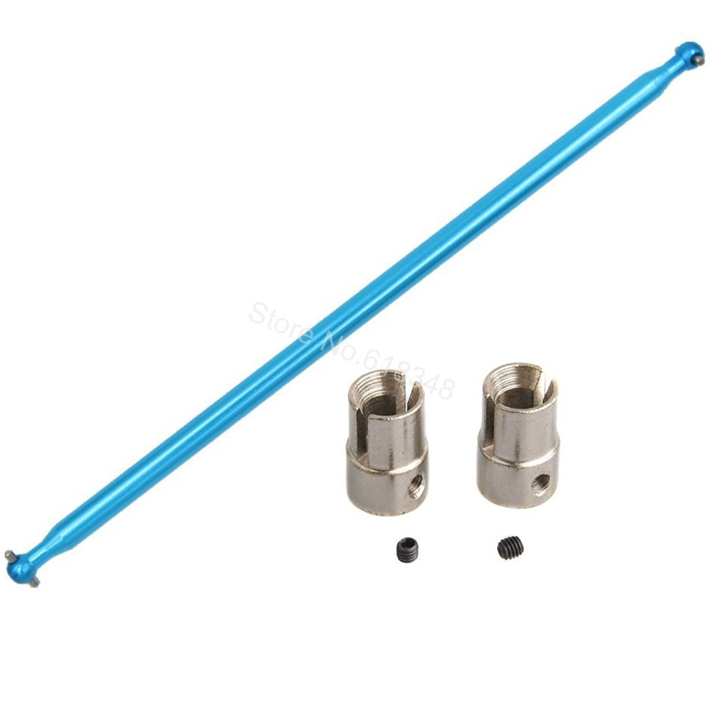 04003 Aluminum Drive Shaft & Cup B 02016 For 1/10 Redcat Volcano EPX / Pro Upgrade Parts Monster Truck HSP 94111 Replacement