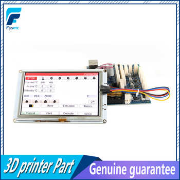 Clone 5\'\' 5 inch PanelDue 5i Integrated Paneldue Colour Touch Screen Controllers For DuetWifi Duet 2 Ethernet 3D Printer Parts
