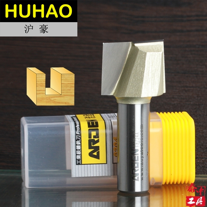 Woodworking Tool Bottom Cleaning Arden Router Bit - 1/4*1 - 1/4 Shank - Arden A0112114 high grade carbide alloy 1 2 shank 2 1 4 dia bottom cleaning router bit woodworking milling cutter for mdf wood 55mm mayitr
