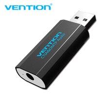 Vention 3.5 미리메터 usb 어댑터 usb audio Adapter card Mic tk t89 와 USB 에 잭 3.5 Converter 대 한 PS4 Laptop 컴퓨터 헤드폰 Sound Card