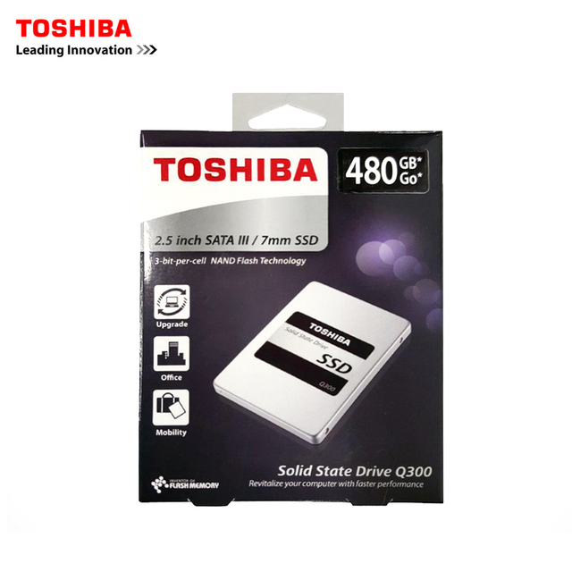 """Toshiba disco ssd de 6 gb/s sata iii 2.5 """"450 Productos MB/S 960 GB 120G 240G 480G unidades de disco de estado sólido Interno Q300 serie (11.11)"""