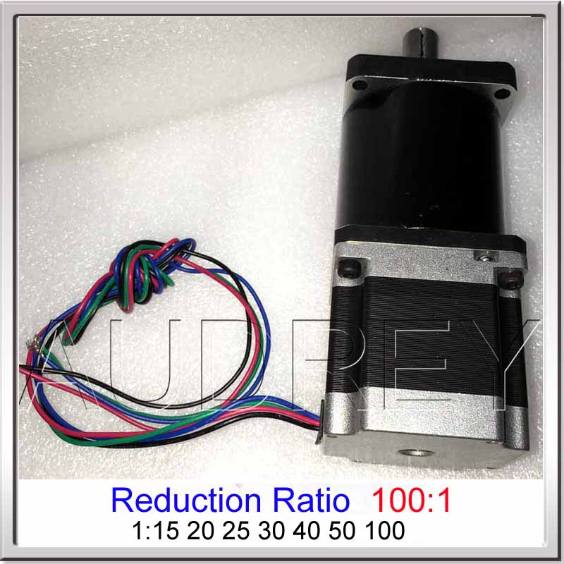 57BYG stepper motor L41mm Planetary Reduction ratio 1:100 planetary reducer stepper motor Planetary gearbox speed reducer motor 310 reduction of motor speed reducer technology small making motor diy puzzle solar toys handmade accessories