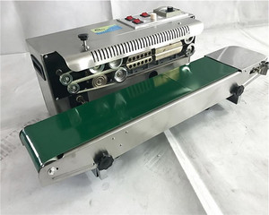 Image 5 - FR 900S Heat Sealing Machine for Snack Pouches, Aluminum Foil Bags, Candy Wrapper  PP, PVC, POF film bags band sealer