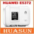 Оригинальный разблокирована HUAWEI E5372 E5372S-32 4G 150 100mbps LTE Cat 4 Карман для Мобильного WiFi Беспроводной Точки Доступа Маршрутизатора разблокирована Оригинальный