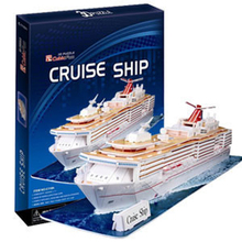 3D модели игрушки бумажная модель головоломки игра Круизный корабль c116h