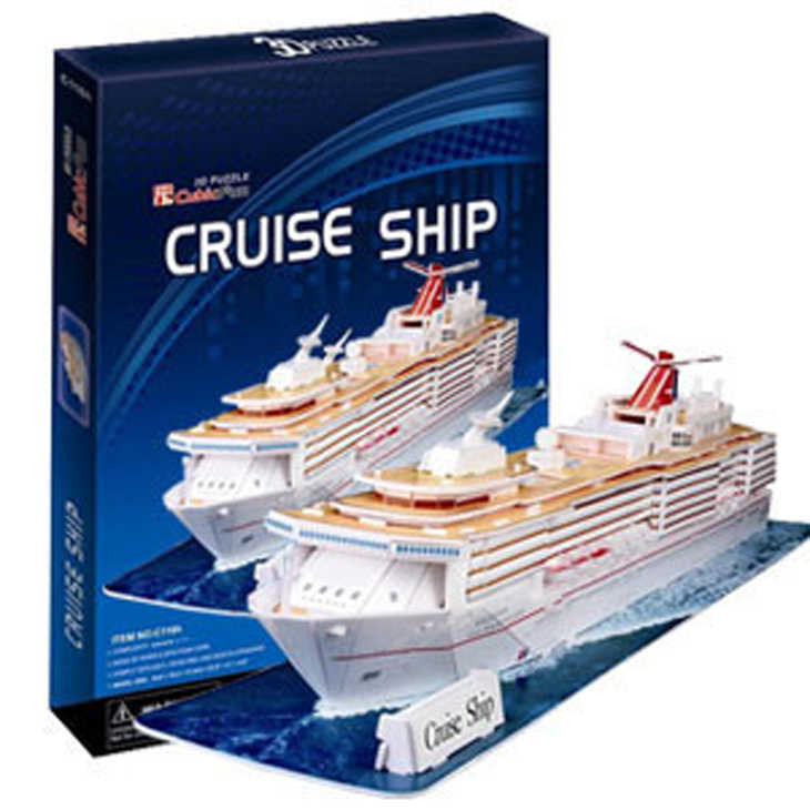 3D model mainan model kertas jigsaw permainan Cruise Ship c116h freeshipping