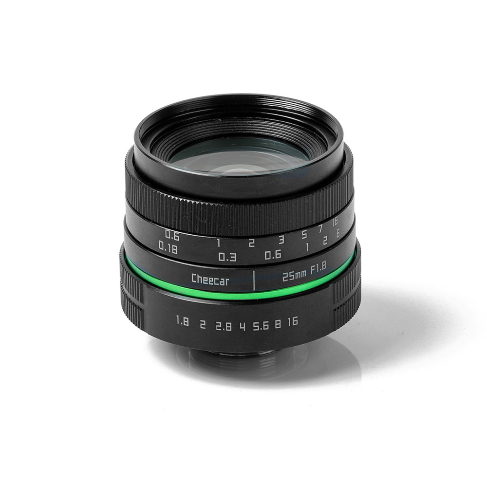 New green circle 25mm F/1.8 Manual Focus Multi-coated APS-C Camera Lens for Canon  CameraNew green circle 25mm F/1.8 Manual Focus Multi-coated APS-C Camera Lens for Canon  Camera