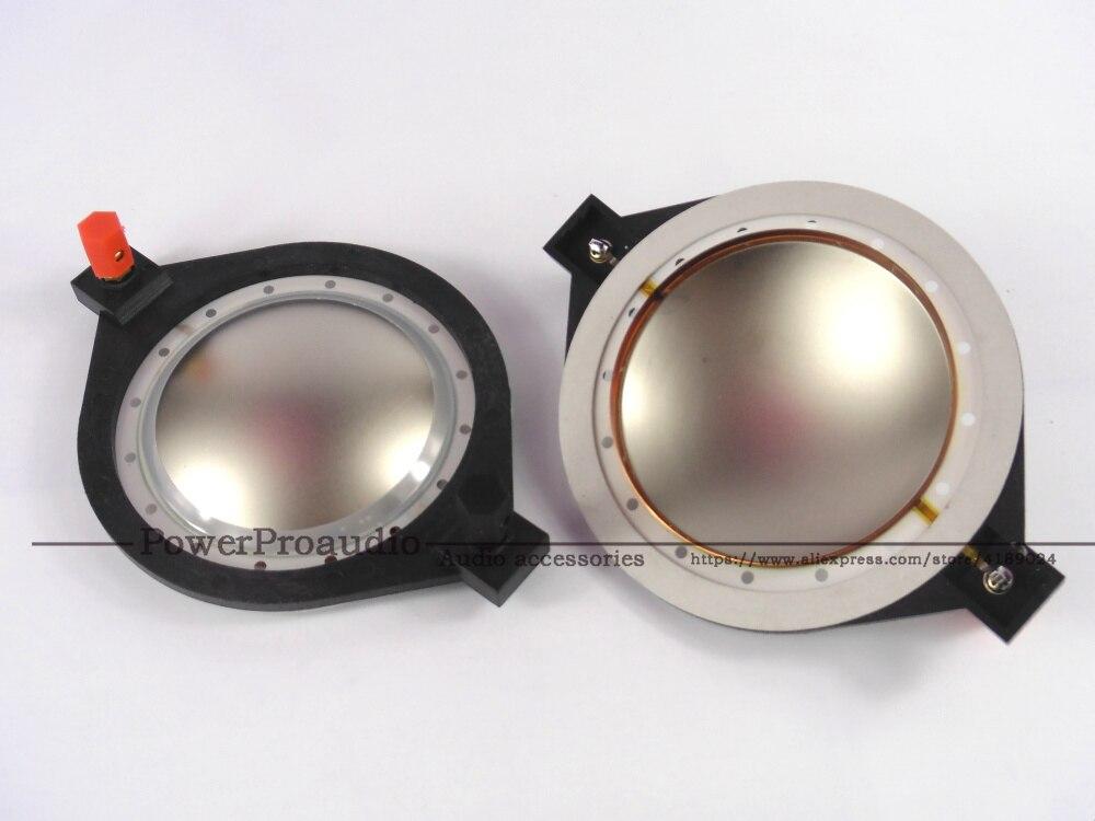 2 peças de substituição rcf m82 diafragma para rcf n850 driver 8 ohm