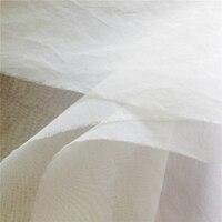 15M 12m/m 140cm Silk Fabric Pure Silk Fabric Tulle Silk Natural Organza Fabrics Tecido Telas De Seda Tissu Tissus Soie AF0004