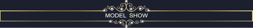 model shows