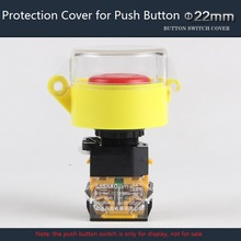 22mm Plastic Push Button Switch Protection Cover Transparent Protective Cover Avoid Wrong Pressing