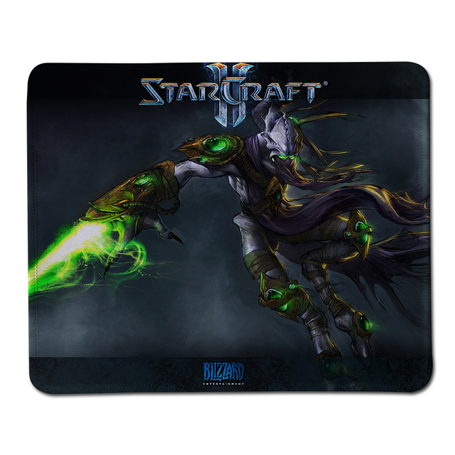 5485baf1e1d High Quality Stitched Edge Rubber Gaming Mouse Pad Starcraft 2 Print  Mousepad Laptop Keyboard Computer Gamer Play Mats