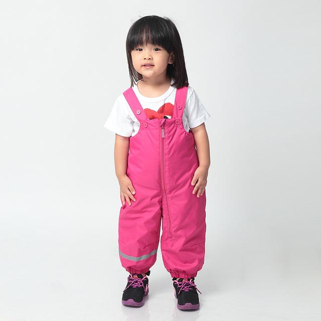 Infantil inverno Global Moomin Muumi 2015 New Rose enchimento de algodão Casuais calças de Casimira Sólida Solto meninas do bebê calças Quentes