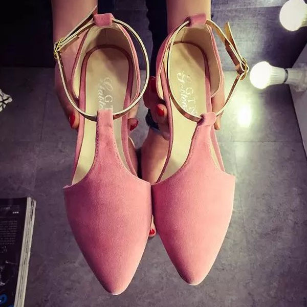 2016 NEW Fashion Woman Flats spring summer Women Shoes top quality T-strap women sandals suede comfort Flat plus size ALF192 2017 new fashion flats woman spring summer women shoes top quality pointed toe women flats suede comfort flat plus size 40