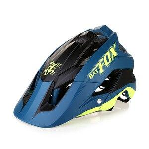 Image 4 - BATFOX 一体成型自転車道路ヘルメット男性 MTB スポーツサイクリングヘルメット超軽量プロバイクヘルメット