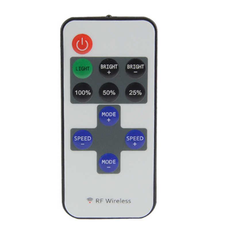 10 ключей RF Беспроводная одноцветная Светодиодная лента диммер DC 12 В в 10 ключей пульт дистанционного управления для SMD 5050 2835 5630 3014 Светодиодные полосы света