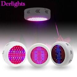 130 w/72*3 w/300 w ufo espectro completo led cresce a luz ac85 ac85 265 v led crescer lâmpada para plantas de interior que crescem e florescem