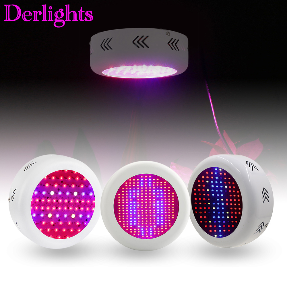130W/72*3W/ 300W UFO Full Spectrum Led Grow Light  AC85~265V LED Grow Lamp For Indoor Plant Growing And Flowering