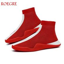 Mens Fashion Socks Shoes Man Sneakers Male Flying Running
