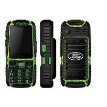 Водонепроницаемый телефон Guophone A6 power Bank Мобильный телефон Bluetooth FM радио Телефон Прочный противоударный пылезащитный OTG Мобильный телефон