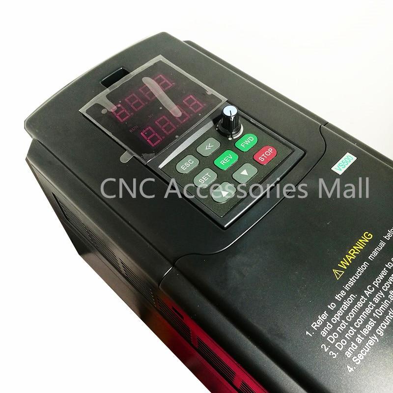 VS500 VFD Inverter 18.5KW AC380V Inverter 400HZ VS500-4T0185G Frequency Inverter