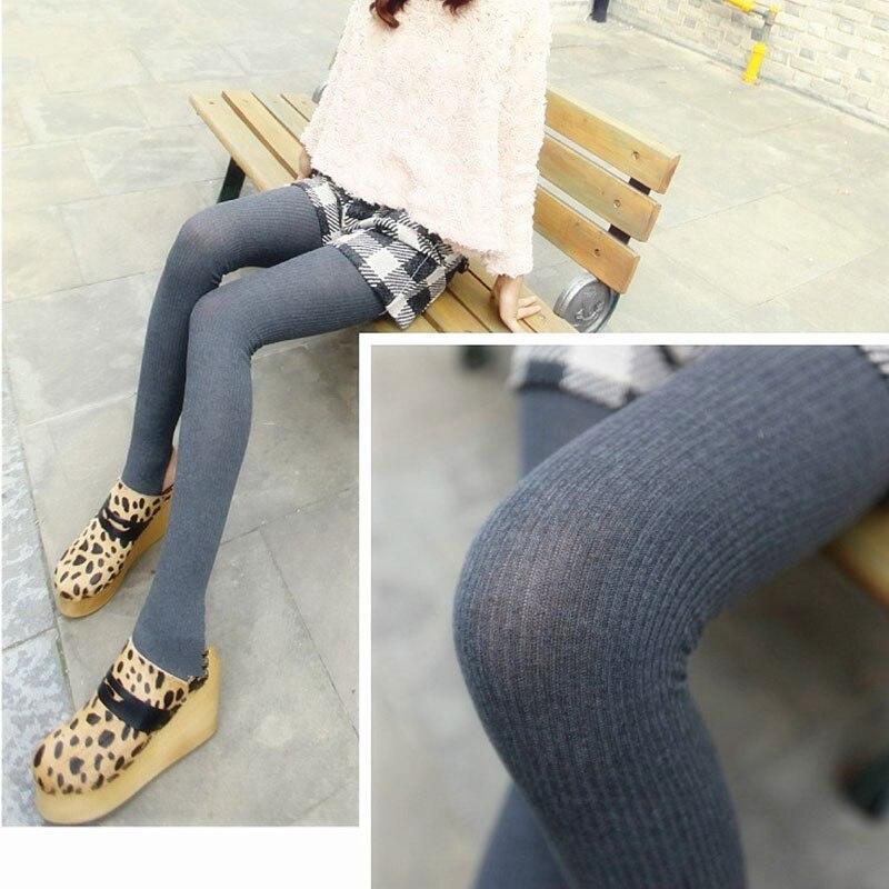 Women's Winter Warm Skinny Slim Leggings 2