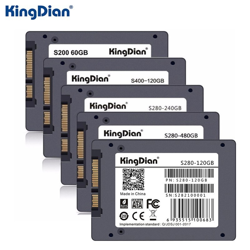 KingDian 2.5 inch SSD SATAIII 60GB 120GB 240GB 480 GB SATA 3 Port Hard Drive Disk High Speed Msata SSD for Laptop Notebook цена